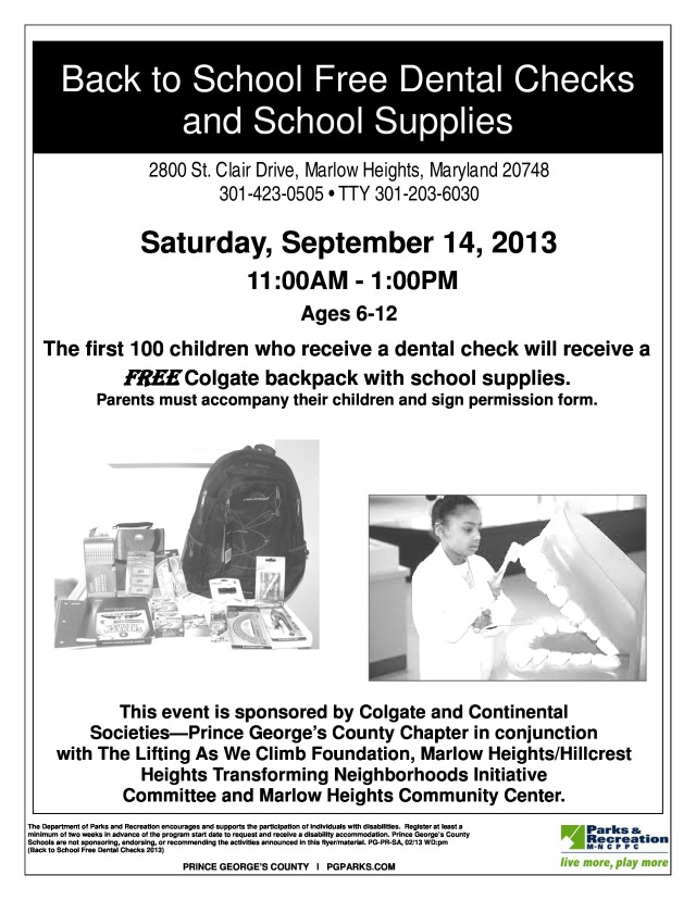 MHCC - Back to School Free Dental Checks 2013-page-0